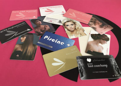 CARTES PVC TOUTES OPTIONS