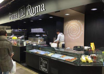 DECO STAND HALLE PIZZA DI ROMA