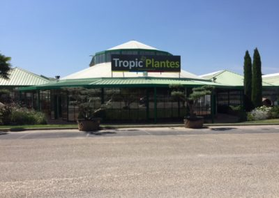 ENSEIGNES TROPIC PLANTES