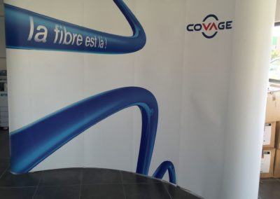 stand parapluie courbe laie magnetique covage